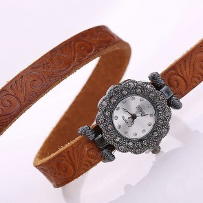 Ceas Dama Quartz Royal Genuine Leather