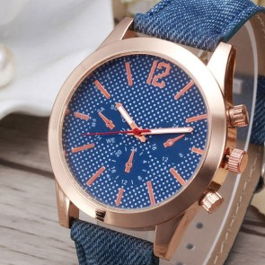 Ceas Dama Quartz Rose Denim