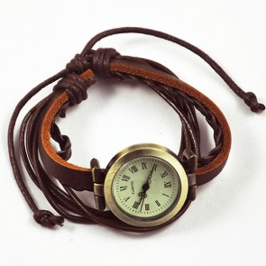 Ceas Dama Quartz Vintage Leather Strap