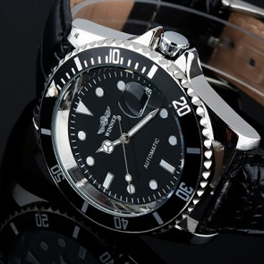 Ceas Automatic Winner Black Shell
