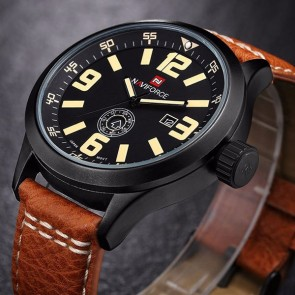 Ceas Quartz NAVIFORCE Brown Dash