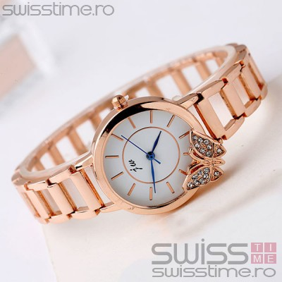 Ceas Dama Quartz jw Little Butterfly