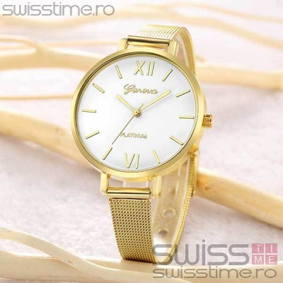 Ceas Dama Quartz Geneva Noticeable