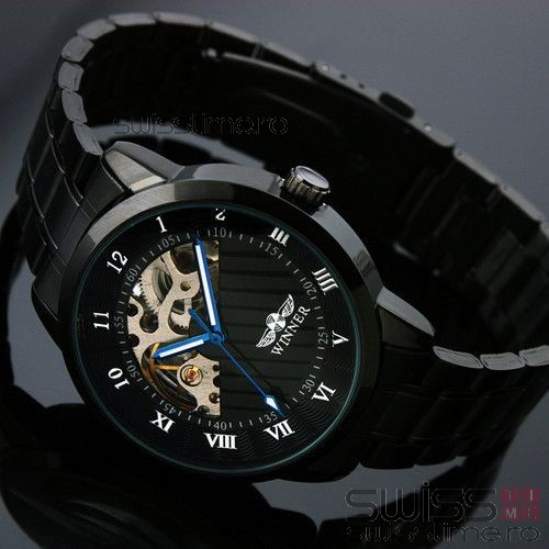 Ceas Automatic Winner HighClass Black Edition