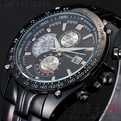 Ceas Quartz Curren Grand Titanium