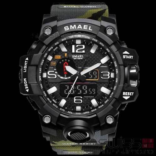 Ceas Sport Quartz S-Shock MudMaster-camouflage