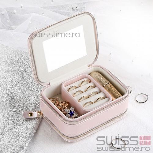 Cutie organizatoare bijuterii 6019CUT-rose