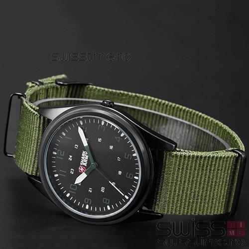 Ceas Sport Quartz SHARK ARMY-verde