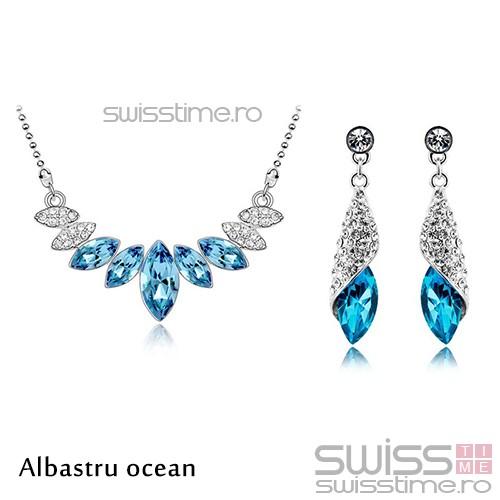 Set Frozen Tears-Albastru ocean