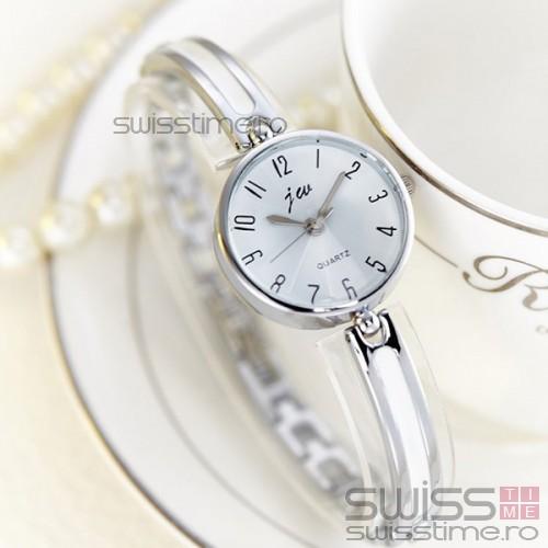 Ceas Dama Quartz jw Splendid-silver