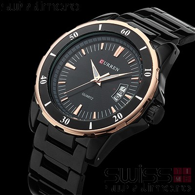Ceas Quartz Curren Black Edge