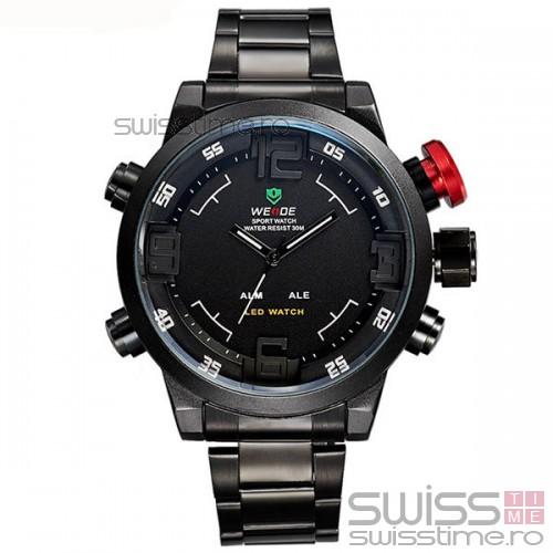 Ceas Quartz WEiDE Black Shade WH2309-2C -alb