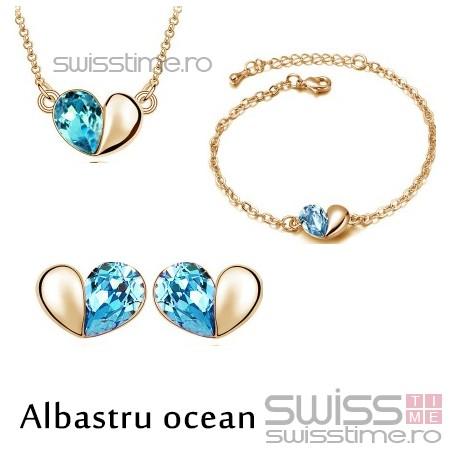 Set Locked Out Of Heart-Albastru ocean