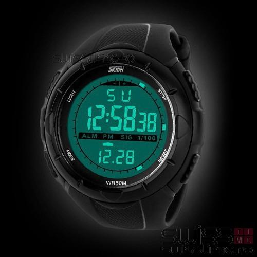Ceas Sport Electronic AeroChrono-black