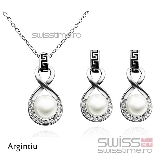 Set Infinite Elegance-Argintiu