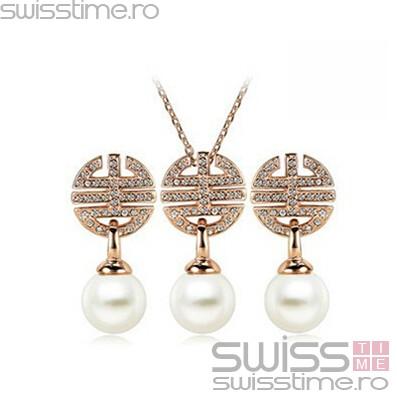 Set The Queens Wedding Pearl-Auriu