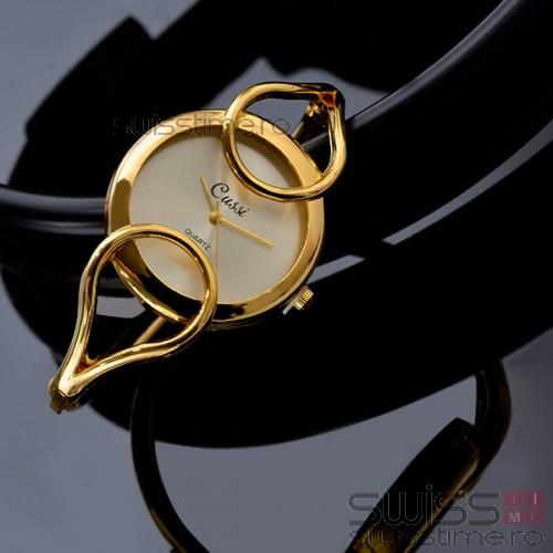 Ceas Dama Quartz Blissful-gold