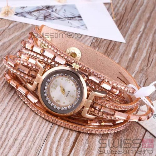 Ceas Dama Quartz Excellent-gold