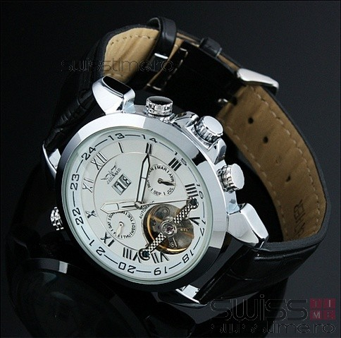 Ceas Automatic Jaragar Tourbillon Select Edition-alb
