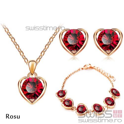 Set Captured Heart-Rosu