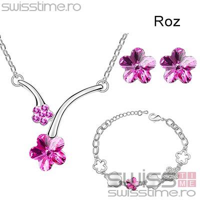 Set Spring Pastel Flowers-Roz