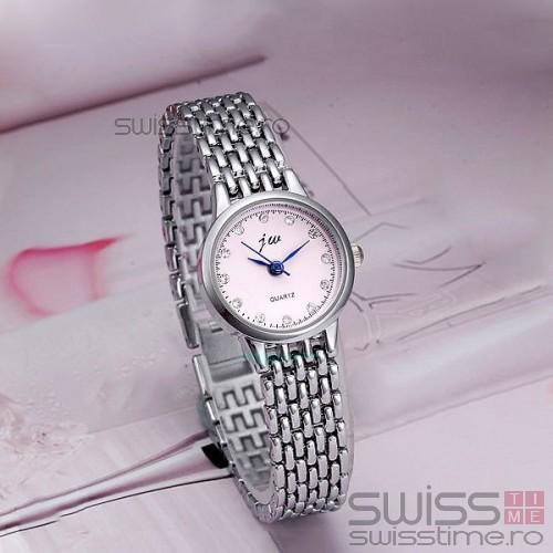 Ceas Dama Quartz jw LadyLike-silver