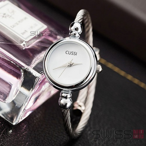 Ceas Dama Quartz Vintage Silver and Gold