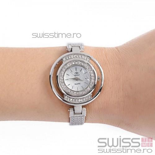 Ceas Dama Quartz Realy Fantastic-silver