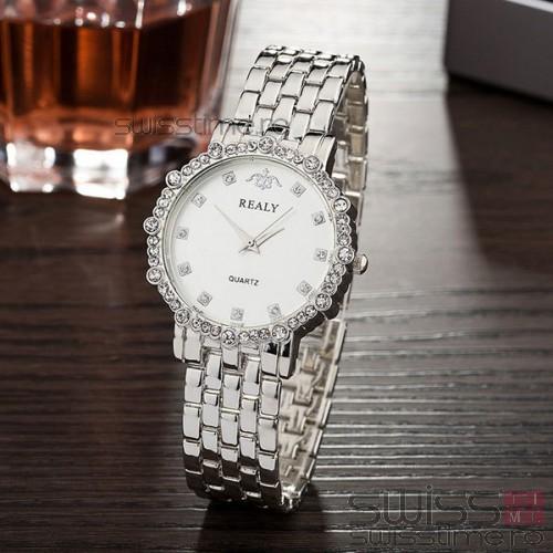 Ceas Dama Quartz Realy Stunning-silver