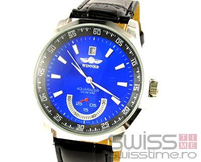 Ceas Automatic Winner Aquaracer-albastru