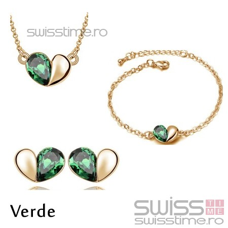 Set Locked Out Of Heart-Verde
