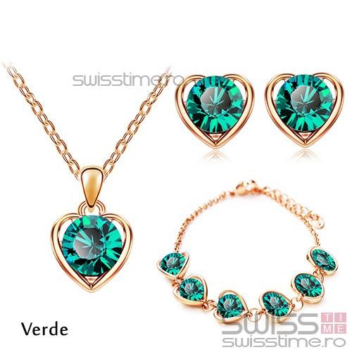 Set Captured Heart-Verde