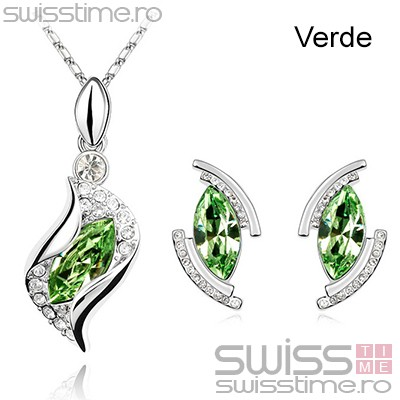 Set Bent Diamonds-Verde