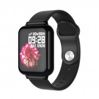Ceas Sport Fitness Tracker Smartwatch B57-negru