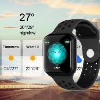 Ceas Sport Fitness Tracker Smartwatch F8-negru