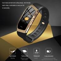 Ceas Sport Fitness Tracker Smartwatch E18-auriu