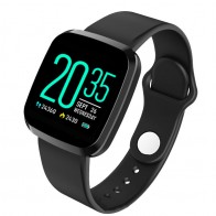 Ceas Sport Fitness Tracker Smartwatch P3-negru