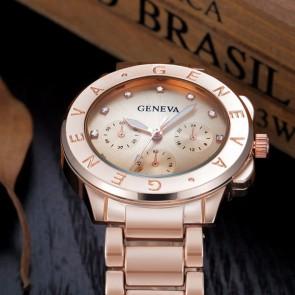 Ceas Dama Quartz Geneva Trendy