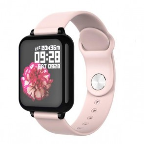 Ceas Sport Fitness Tracker Smartwatch B57-rose