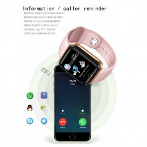 Ceas Sport Fitness Tracker Smartwatch LIGE-rose