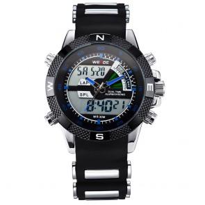 Ceas WEIDE Quartz Casual Sport Albastru WH1104-13C