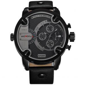 Ceas WEIDE Quartz Casual Sport Negru WH3301B-1C