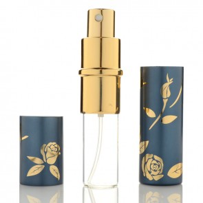 Pulverizator elegant de parfum 10ml reincarcabil  6012ACM-albastru