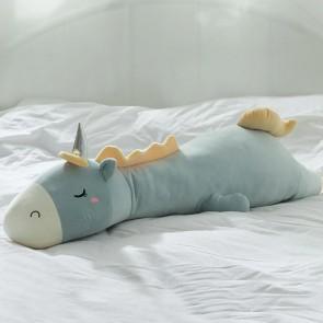 Jucarie de plus eSelect unicorn somnoros 95 cm