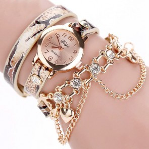 Ceas Dama Quartz Exotic Chain