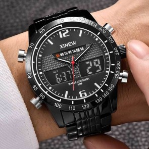 Ceas Quartz XINEW Black Hawk