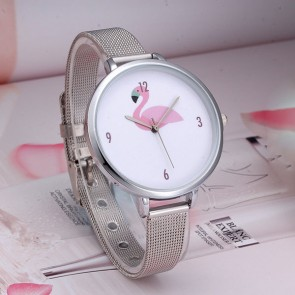 Ceas Dama Quartz Flamingo