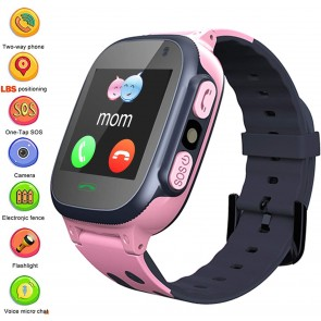 Ceas Sport Fitness Tracker Smartwatch Kids Q15-rose