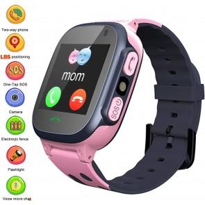 Ceas Sport Fitness Tracker Smartwatch Kids Q15-rose