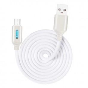Cablu de date si incarcare tip USB-C 1m 13009CBL-argintiu